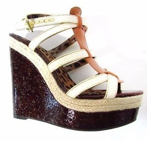 Jessica Simpson Ginny Wedge Sandals Size 7M